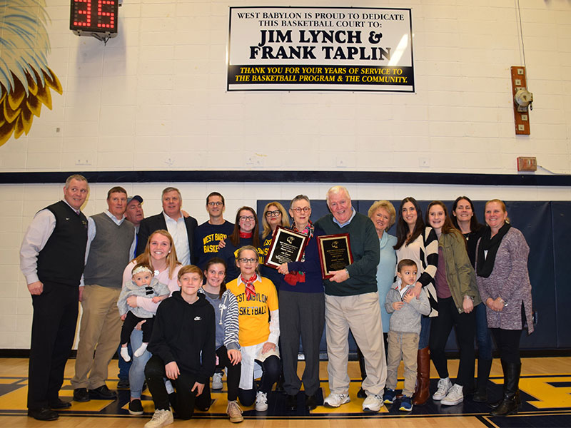 Former Basketball Coaches Honored with Gym Dedication