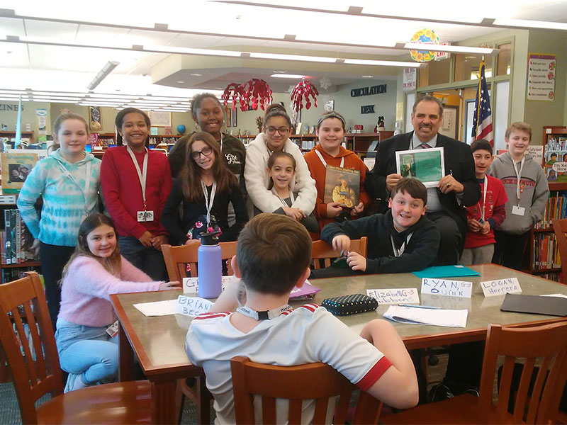 JHS Celebrates World Read Aloud Day