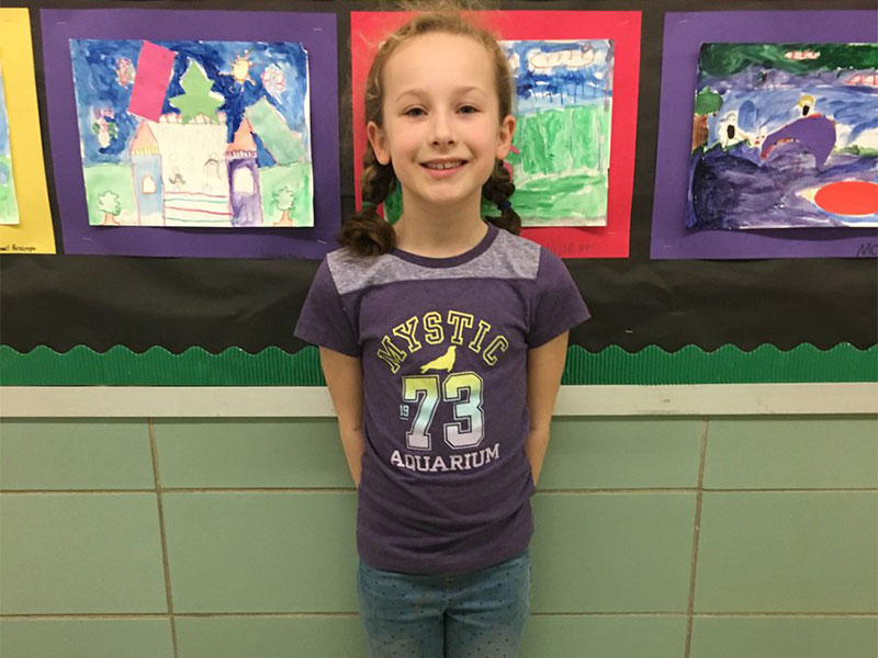 Second-Grader Moves to States in Reflections Contest