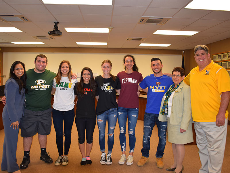 Five Senior-Athletes Commit to Colleges