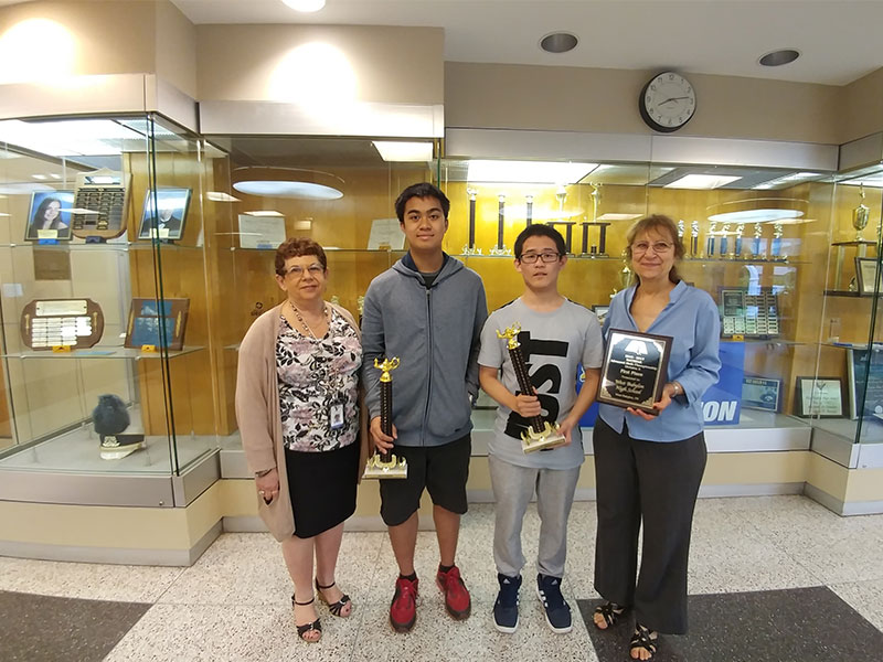 SHS Ranks First in National Math Comp