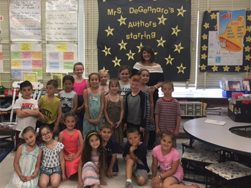 Literacy Celebration Stars First-Grade Authors