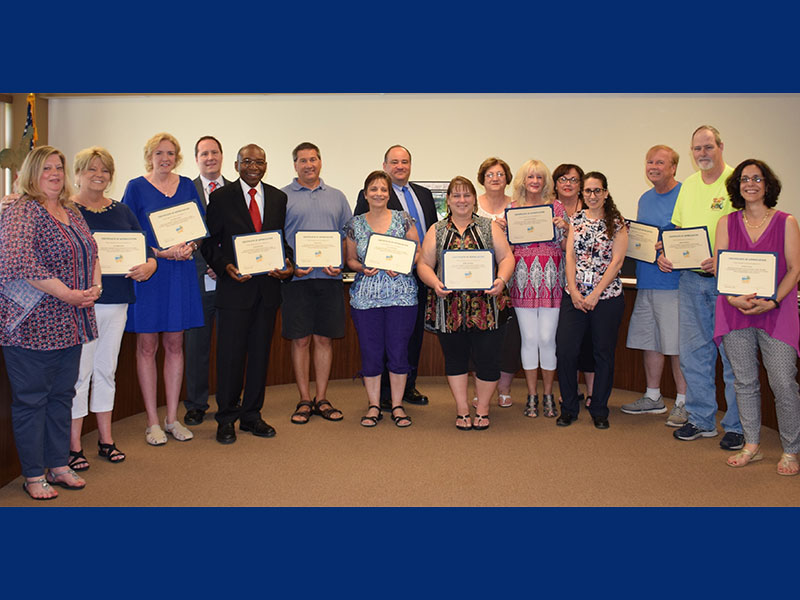 Fond Farewell to Retirees
