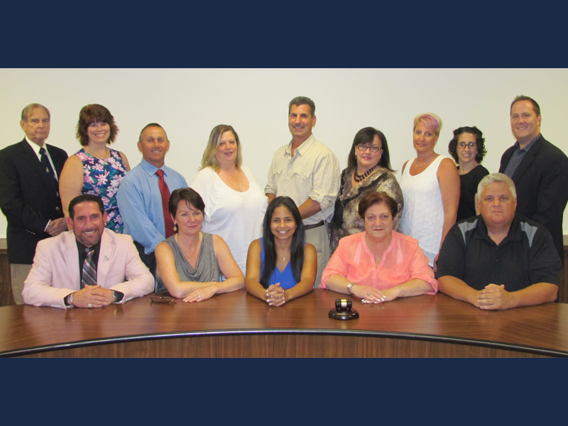 Board of Education Reorganizes for the 2015-2016 School Year