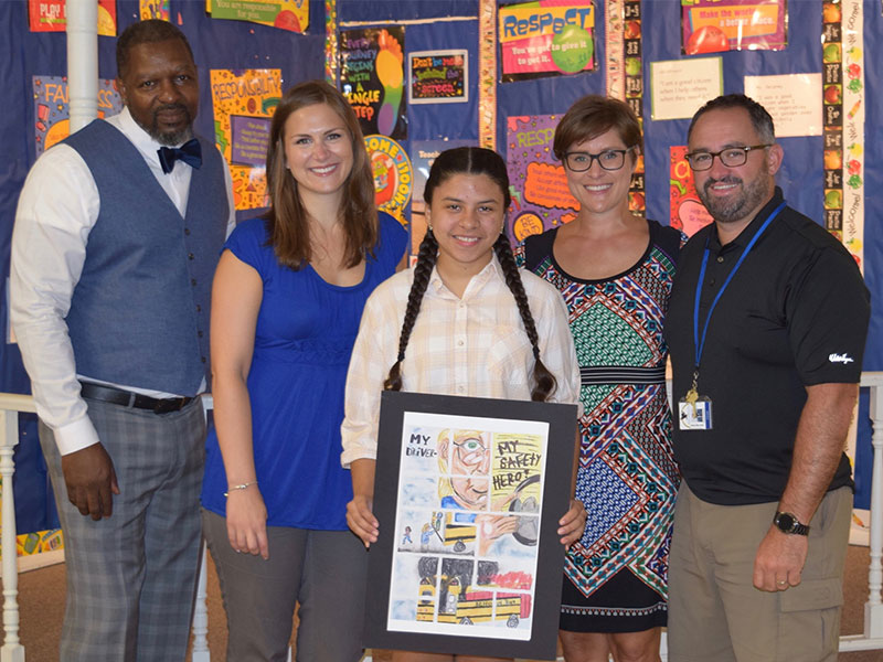 JHS Student Wins State Poster Contest