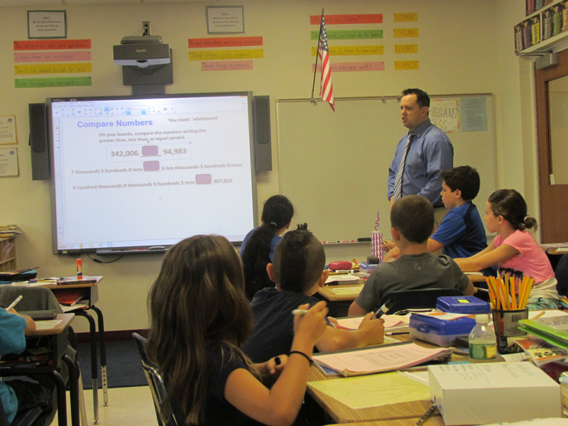 District Implements New Math Modules Program
