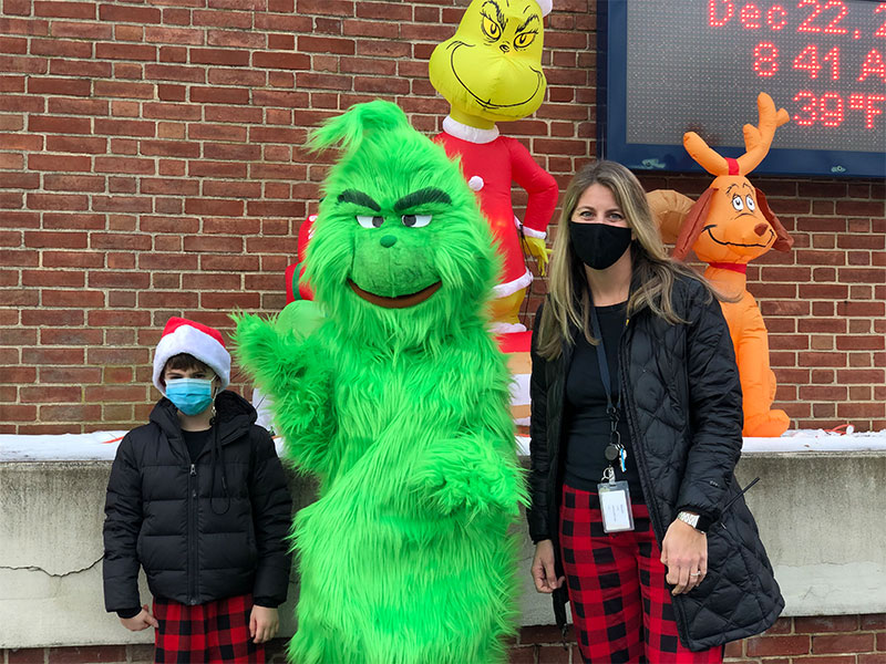 South Bay students celebrate the Grinch