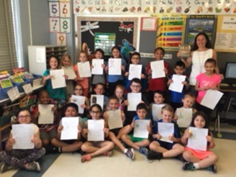 Tooker's Second Grade Writers