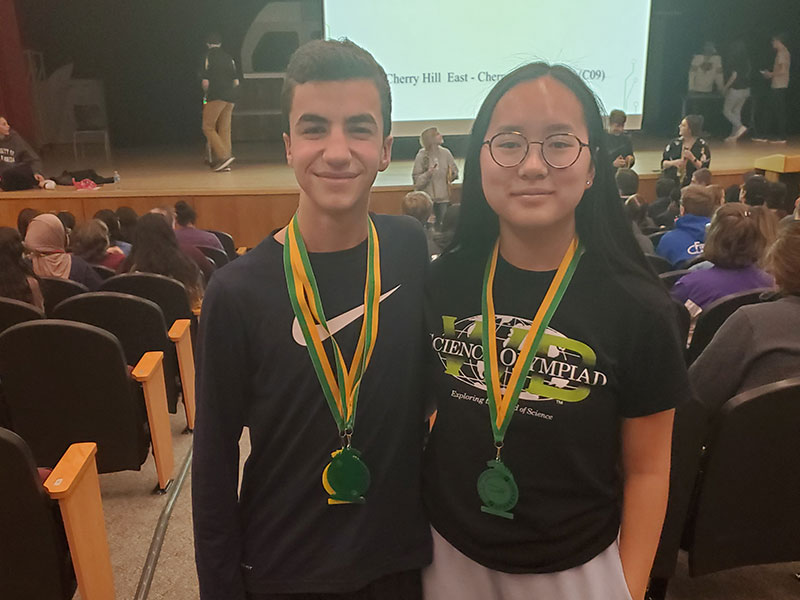 Top Honors for Science Olympiad Team