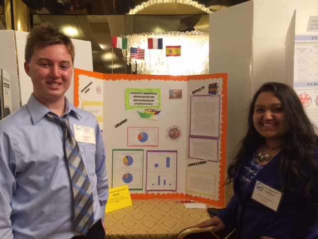 HS Students Present Science Research
