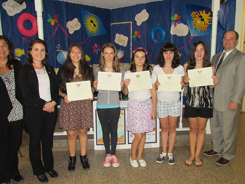 Students Recognized Nationally for Community Service