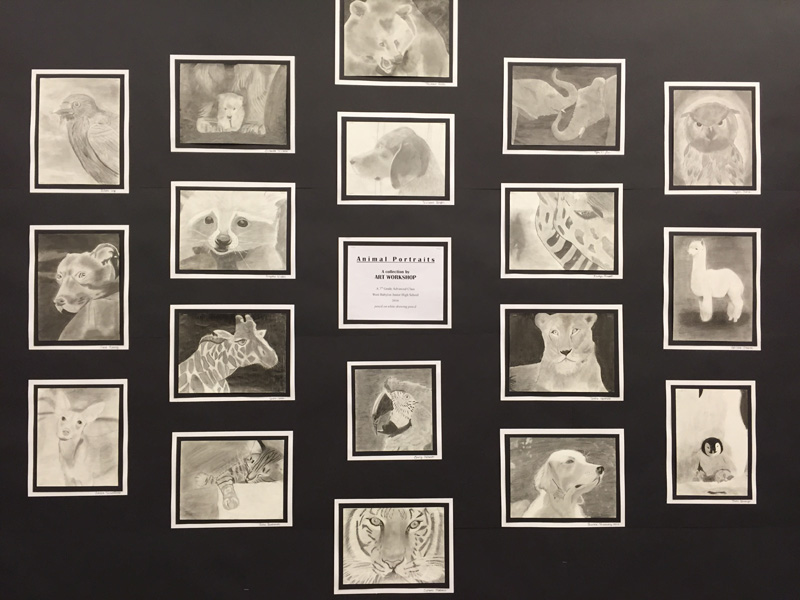 Animal Portraits Come to Life at Library Exhibit