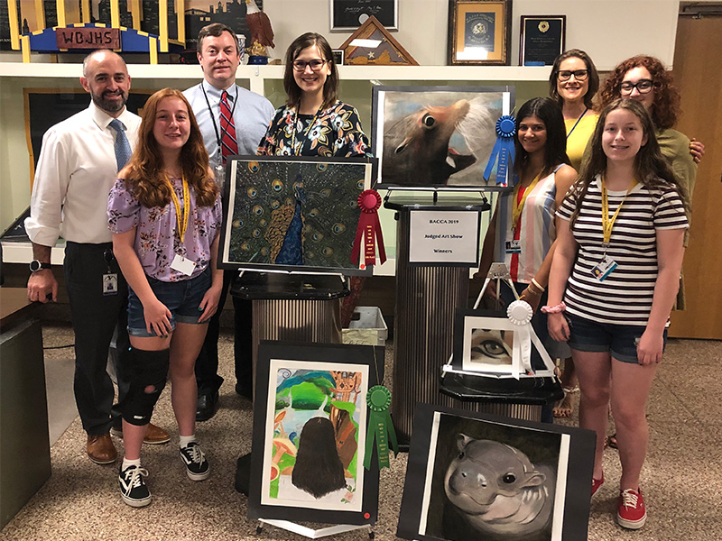 JHS Student-Artists Take Top Honors at Spring BACCA Show