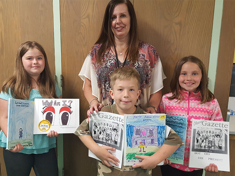 Tooker Authors Show Off Love of Literacy