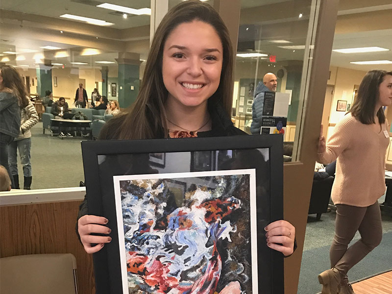 Student-Artist Recognized