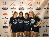 Relay Team Heads to Millrose Games photo