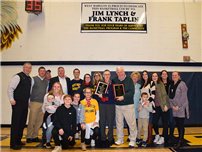 Former Basketball Coaches Honored with Gym Dedication photo