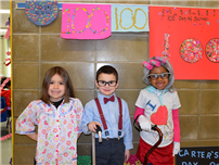 Forest Celebrates 100th Day of School photo