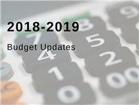 2018-19 Budget Preparations Underway image