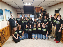 West Babylon Takes Eighth in Science Olympiad photo