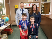 Second-Graders Take Second in Poster Contest photo