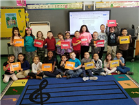 Tooker Celebrates Music in Our Schools photo