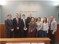 Mock Trial Goes Undefeated Photo