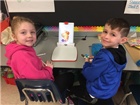 First-Graders Get Creative with Technology photo