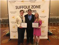Two Seniors Named Zone Winners photo