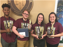 Four Student-Actors Named BACCA Winners photo