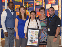 JHS Student Wins State Poster Contest photo