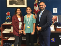 Sixth-Grader Takes Third in Local Veterans Contest photo