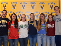 Student-Athletes Commit to College Level photo