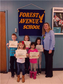 Forest Avenue Student Recognized for their Science Project Photo