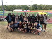 Girls Track Accolades