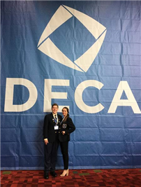 Two Seniors Shine at DECA photo 3