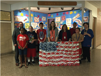 Flag Day Display photo