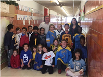Jersey Day at Forest Avenue 1