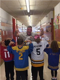 Jersey Day at Forest Avenue 2