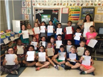 Tooker's Second Grade Writers photo