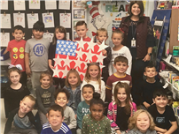 First Graders Show Their Gratitude on Veterans Day thumbnail138732